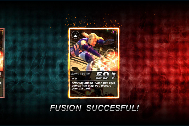 Tekken Elite Card Fusion Feature