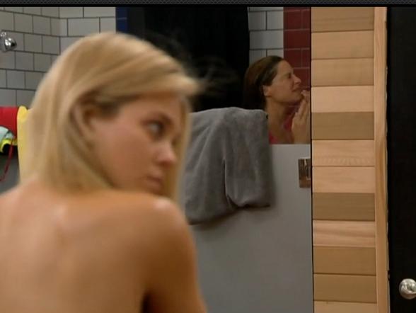 Jessie Big Brother Shower