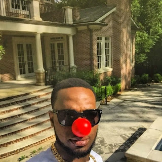 D'Banj And Stella Damasus Join Others To Support Red Nose Day
