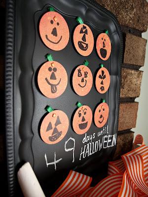 Pumpkin Countdown to Halloween–{Avery & Winslow}