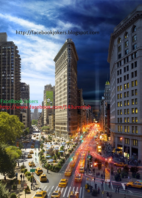 Day-and-night-newyork-city