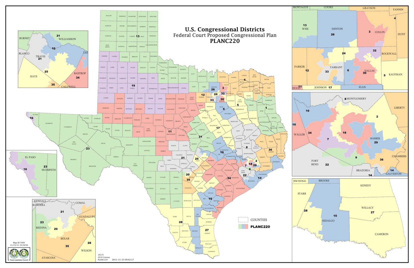 The Legendary Judges39 New Congressional Map Favors Democrats