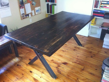 """#3-7 Harvest Table - Forever """"X"""" Table"""