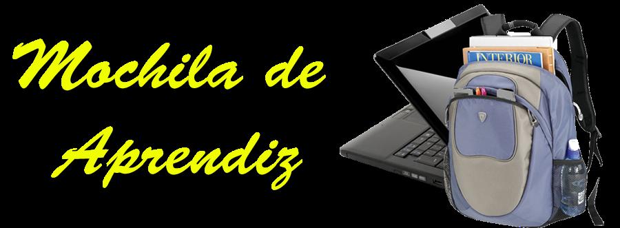 MOCHILA DE APRENDIZ