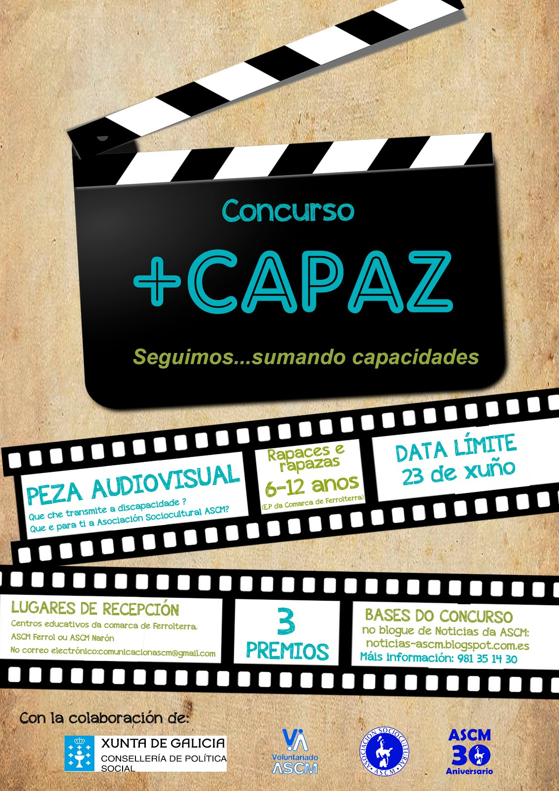 Bases del concurso +CAPAZ