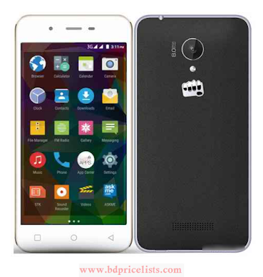 Micromax Canvas Spark Q380 Mobile Full Specification And Price In Bangladesh