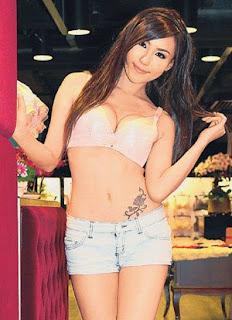 Xu Ying Hong Kong Sexy Model Sexy Short Jeans Image 5