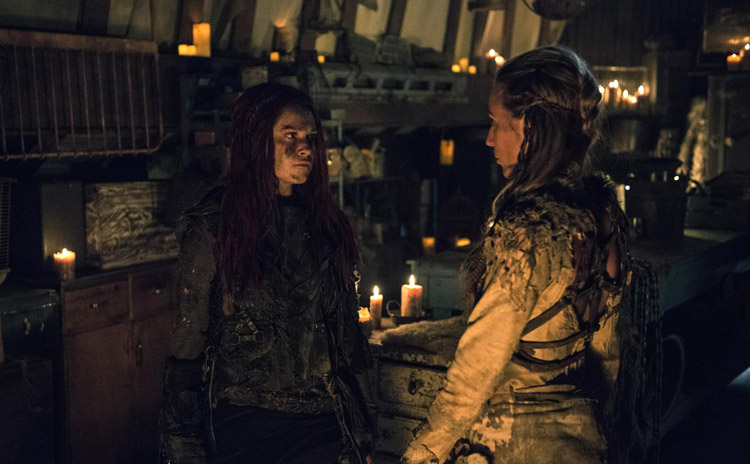 "The 100 - Wanheda: Part One - Season 3 Premiere Review + POLL: ""Time To Ask The Hard Questions"""