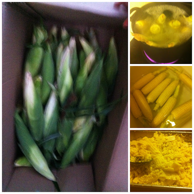 how to prepare corn