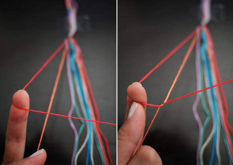 Сегодня я покажу вам, как сделать браслет для своего друга или подруги. .  Для этого нам понадобятся: цветные нитки...
