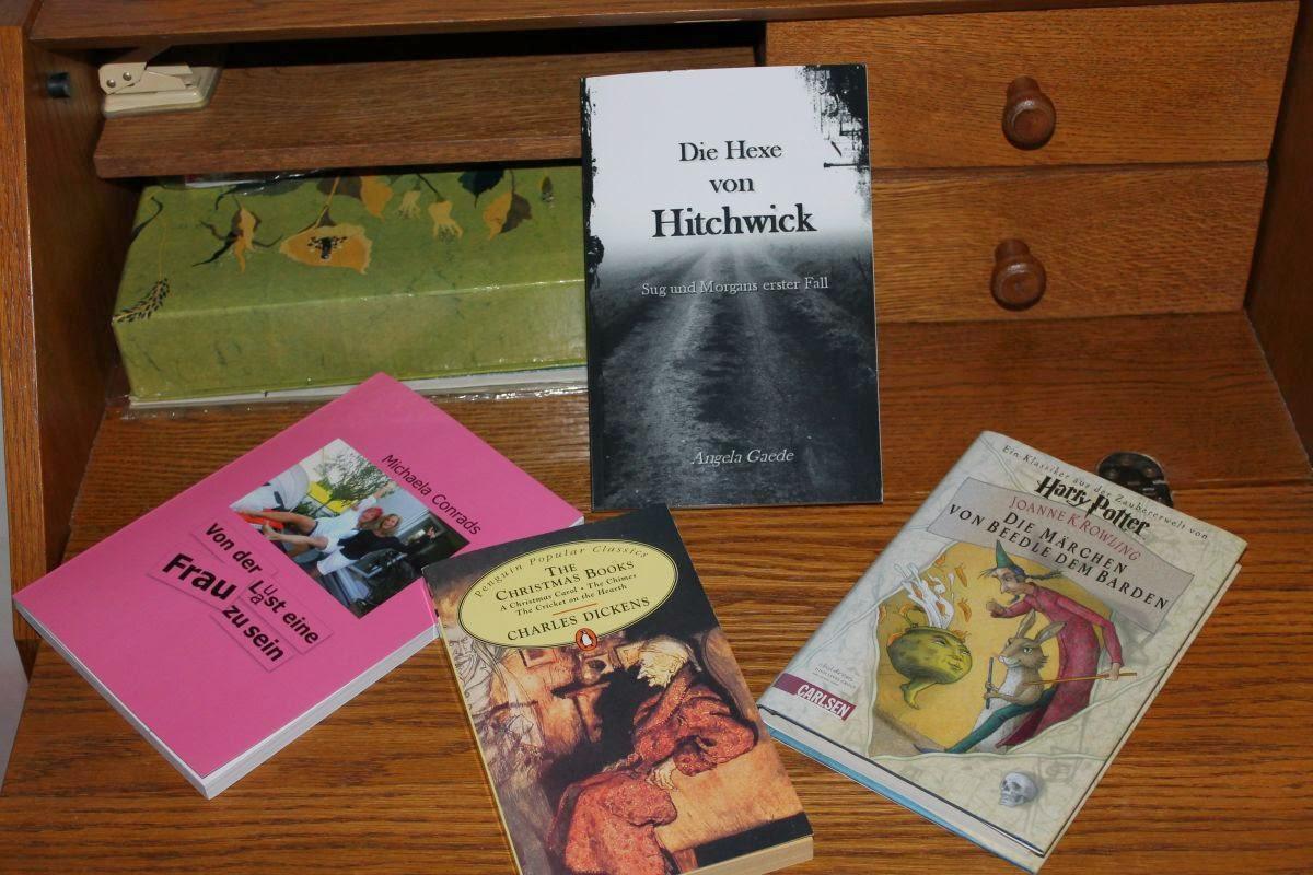 Die Hexe von Hitchwick, Haary Potter, Michaela Conrads, Charles Dickens, Buchempfehlungen