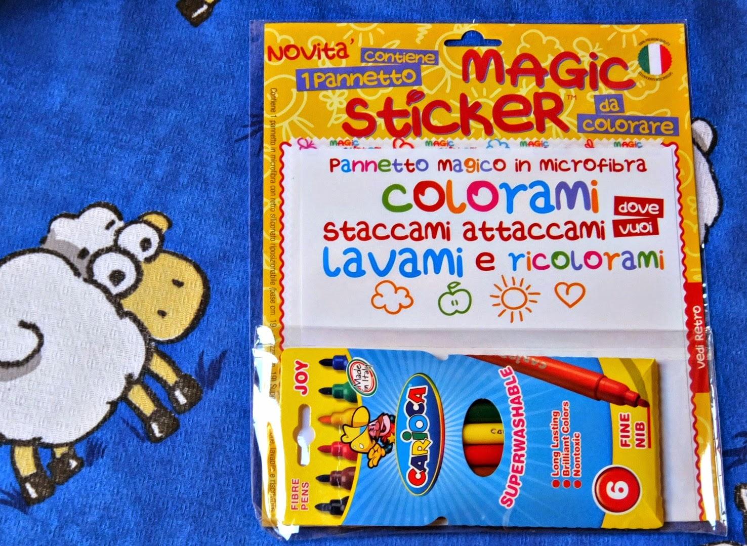 magic sticky, il foglio da disegno magico!