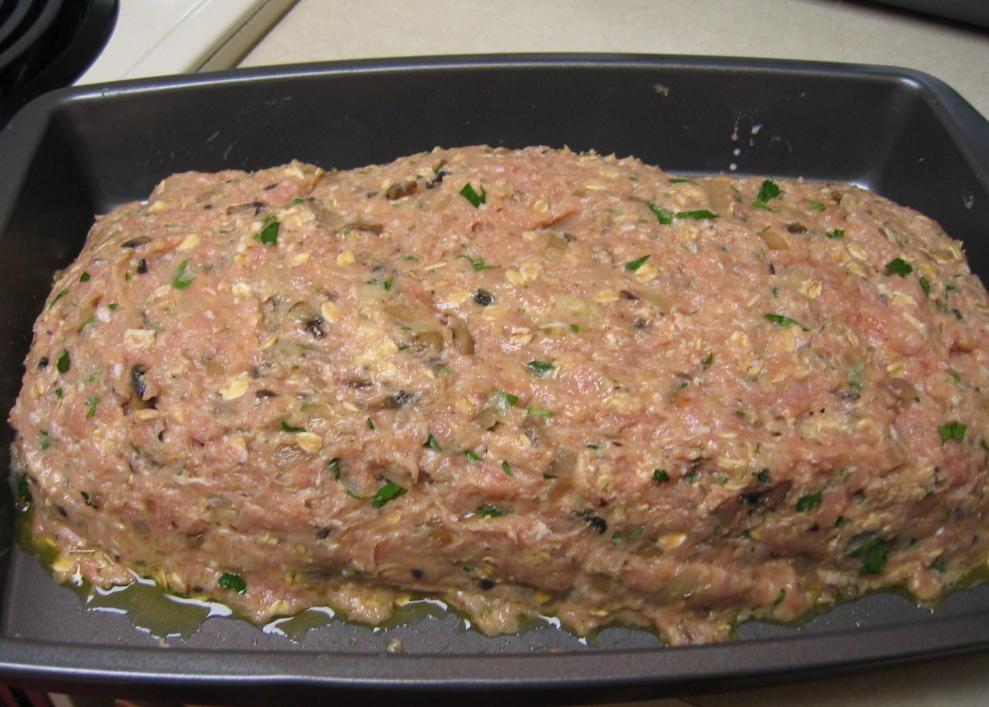 The Nummy Little Blog No Beef Meatloaf
