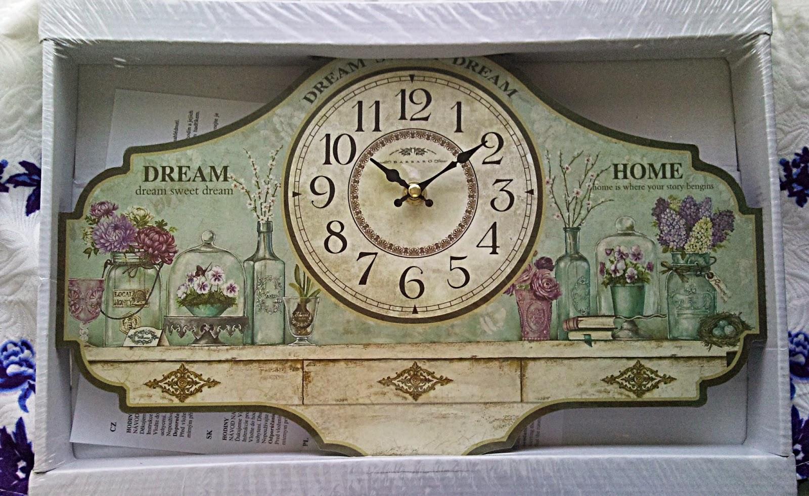 Skrášlim si izbu hodinkami :)
