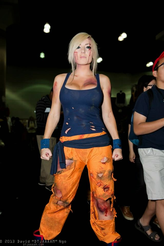 Jessica Nigri cosplays de Gokuh