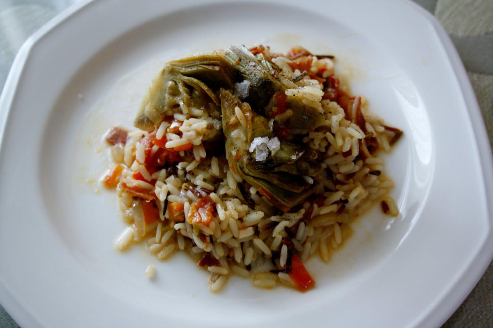 La cocina de maricarmen arroz con verduras y jam n - Cocinas maricarmen ...