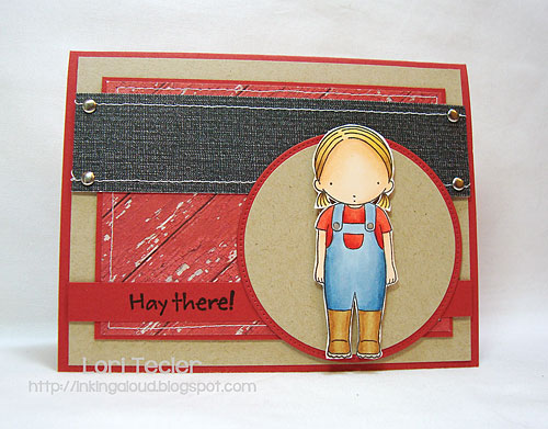 Hay There-designed by Lori Tecler-Inking Aloud-stamps from My Favorite Things