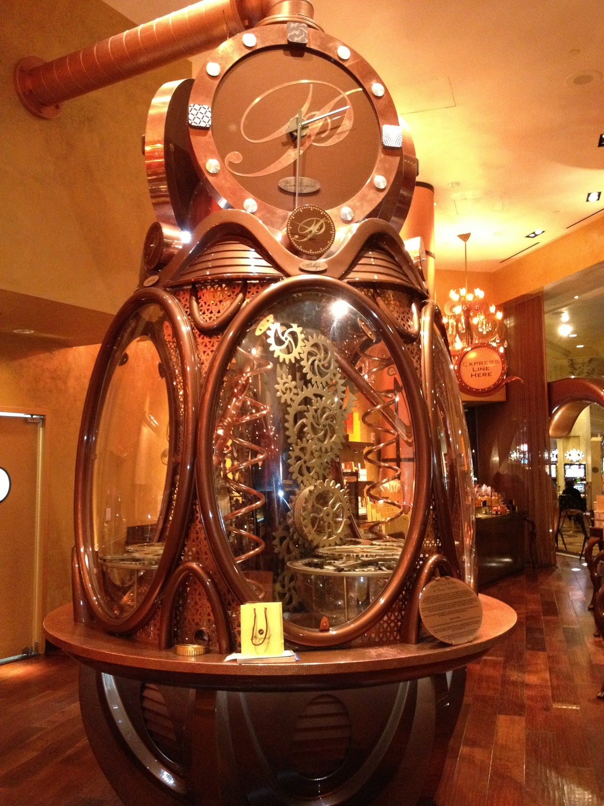 Payard Chocolate Clock Has a Chocolate Clock That