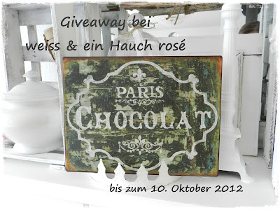 Blechschild Vintage Paris Chokolat Schokolade