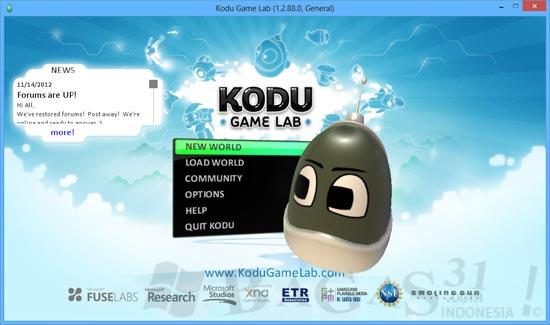 Membuat Game 3D Dengan Kodu Game Lab 2