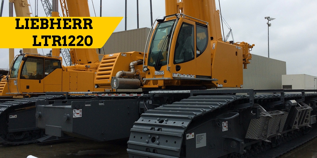 LTR1220 displayed at Liebherr Customer Day in June 2015