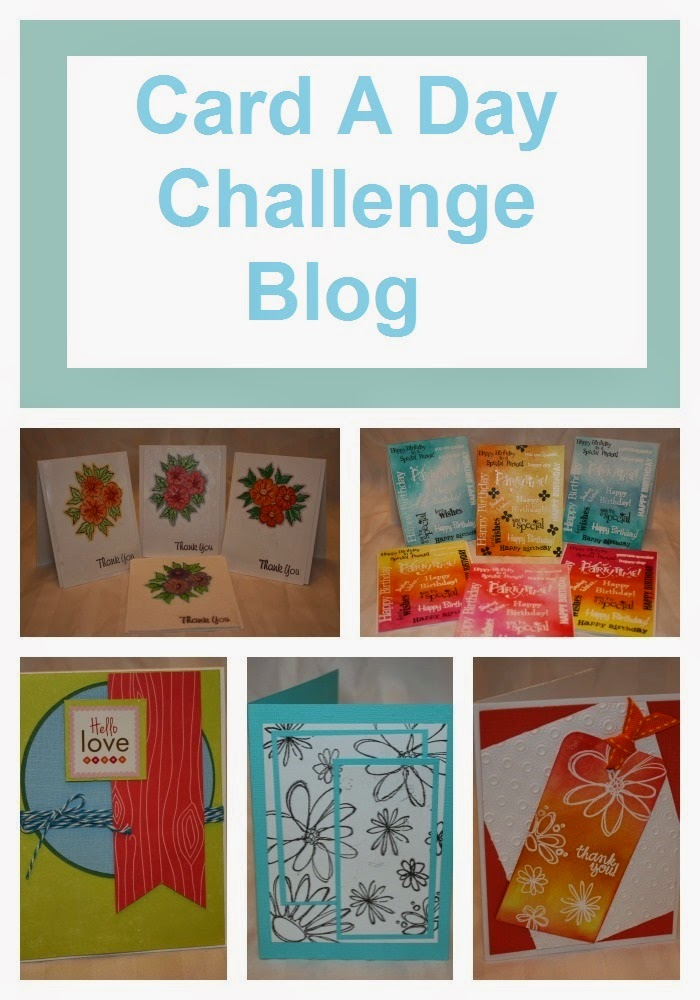 Card A Day Challenge Blog