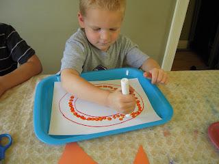 La la 39 s home daycare letter oo week for 3 foot cardboard letters