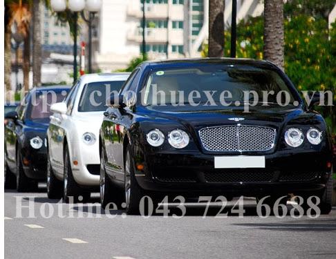 Cho thuê xe Bentley tại Hà Nội