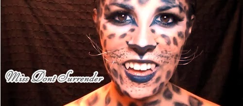 maquillaje animal print leopardo final