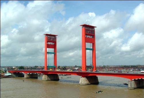 ampera kota palembang