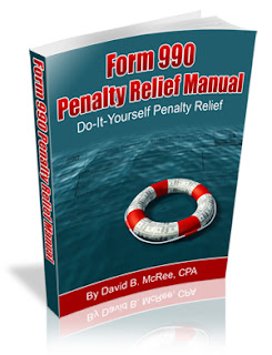 How to Remove Form 990 Penalty www.Form990Help.com