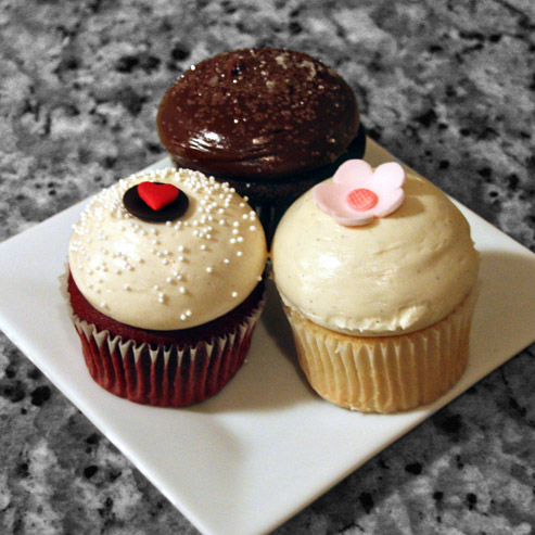 cupcakes from Baked in Charleston, SC by SweeterThanSweets