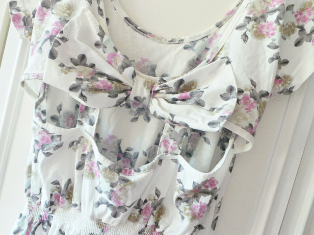 Haul - Thrifty Charity Shop Weekend Fashion Buys Floral Primark Dress