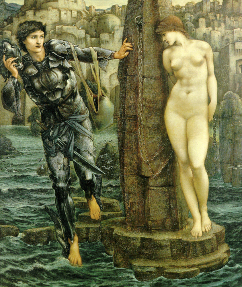Edward Burne-Jones rock of doom