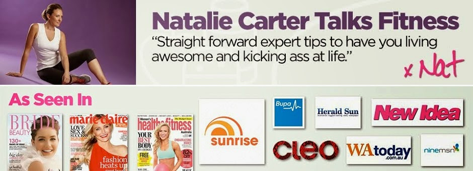 Natalie Carter Talks Fitness