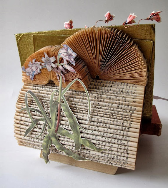 Book Art - Made by Keri Muller - simpleintrigue.com