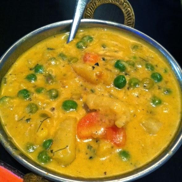 Vegetable korma gravy