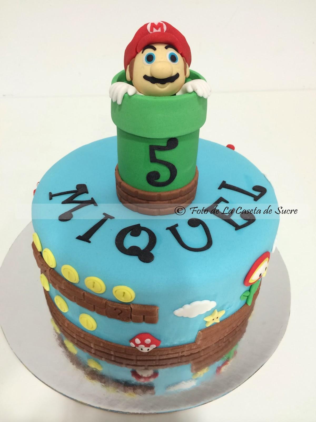 tarta mario bros 4