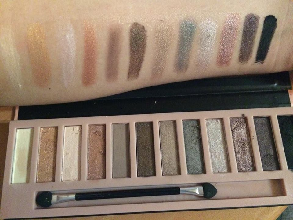 XP Nudes 2 Eyeshadow Collection Palette