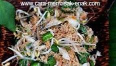 resep praktis (mudah) membuat (memasak) masakan khas maluku kohu-kohu spesial enak, gurih, lezat