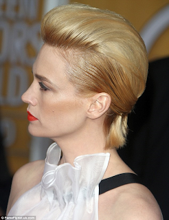 January Jones hair loss post pregnancy