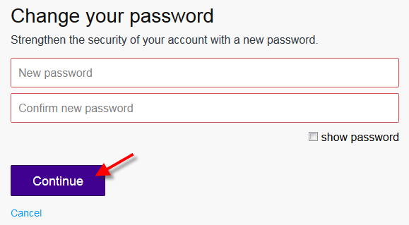 merubah atau mengganti password akun email yahoo