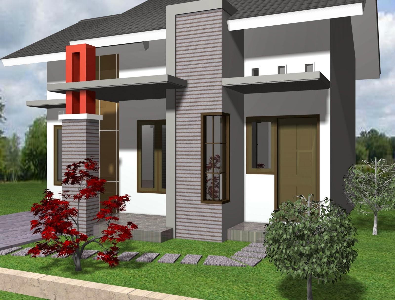 Terbaru Desain Rumah Minimalis Type 21 Thn 2014 PT BM Tehnika