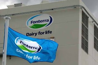 Fonterra suspended operations in Sri Lanka