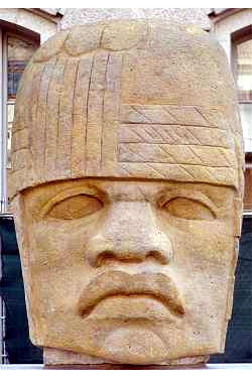 Olmec People Past Rememberin...
