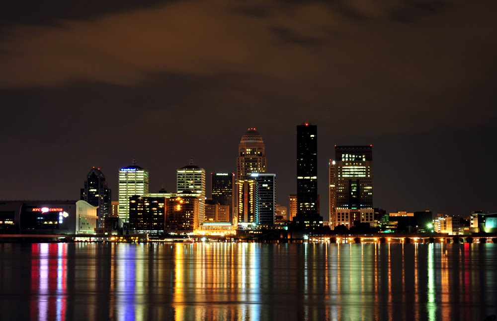 Louisville Ky Kentucky Louisville Skyline