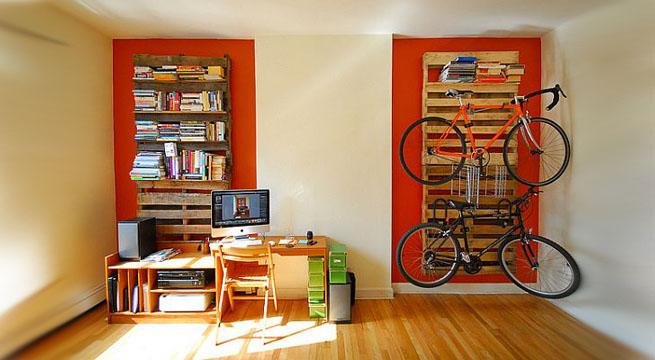 Fabricar muebles con palets de madera construccion y - Como reciclar palets ...