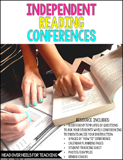 https://www.teacherspayteachers.com/Product/Independent-Reading-Conferences-Templates-to-Differentiate-Your-Instruction-1961079
