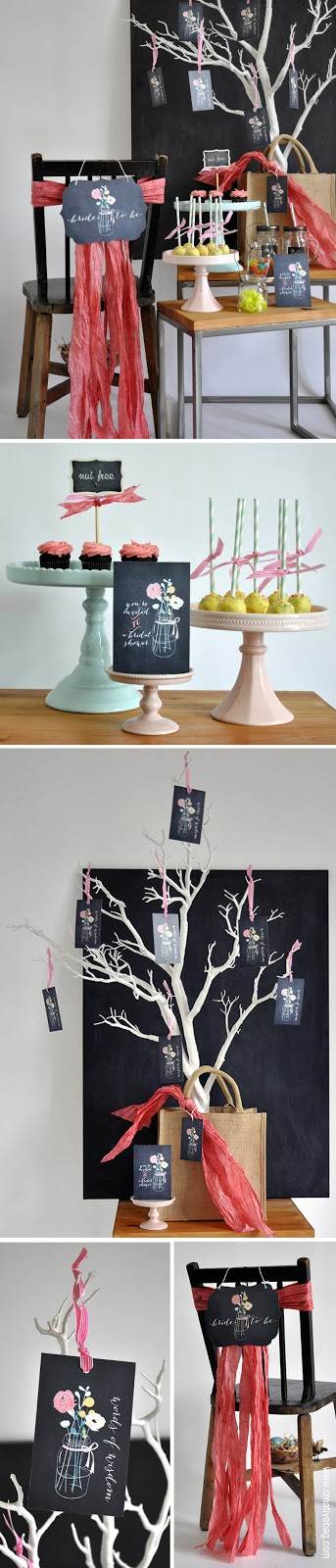 bridal shower party ideas from Creative Bag