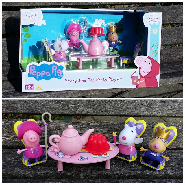 Once Upon a Time with Peppa Pig Storytime Tea Party Playset